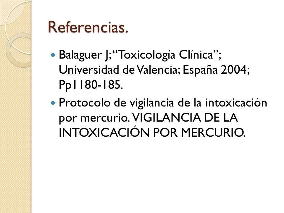 Intoxicaci n mercurio ppt video online descargar for Universidad de valencia online
