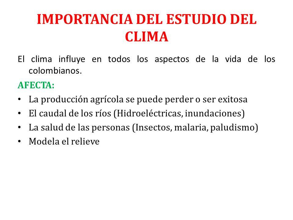 El clima de colombia ppt video online descargar - El tiempo en el valles oriental ...