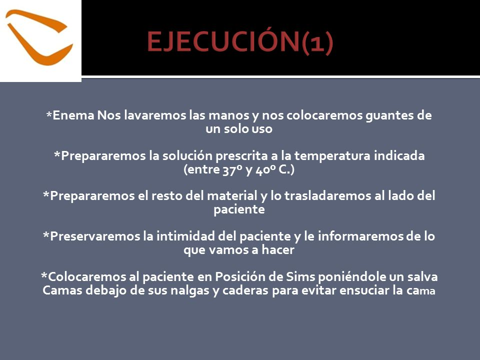 EJECUCIÓN(1) un solo uso