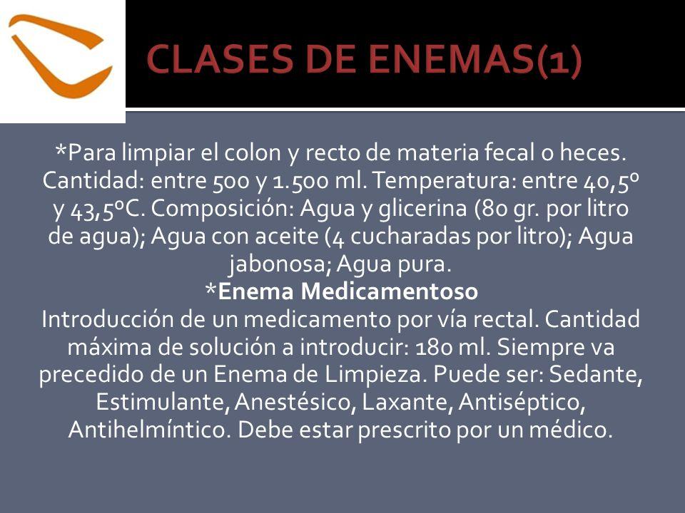 CLASES DE ENEMAS(1)
