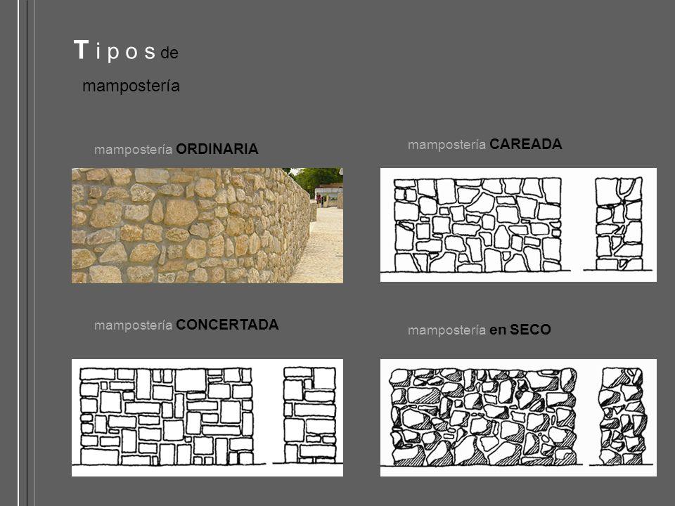 Silleria y mamposteria en piedra ppt video online descargar - Tipos de mamposteria de piedra ...
