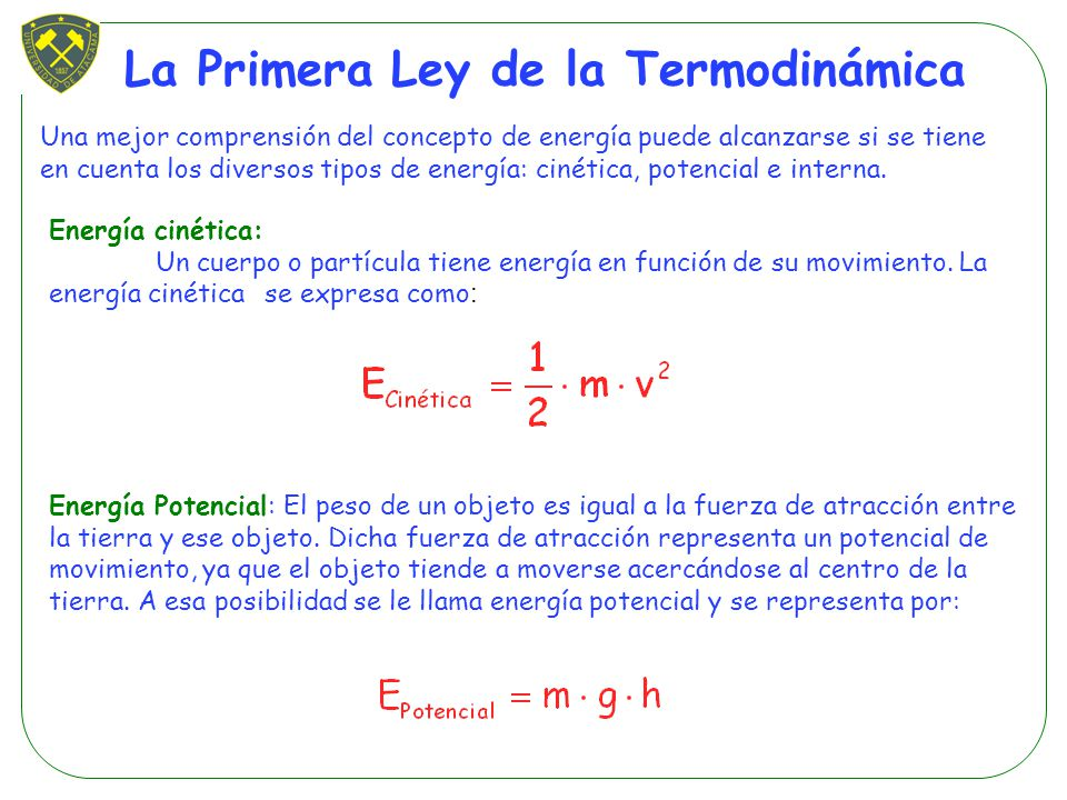 primera ley de la termodinamica pdf