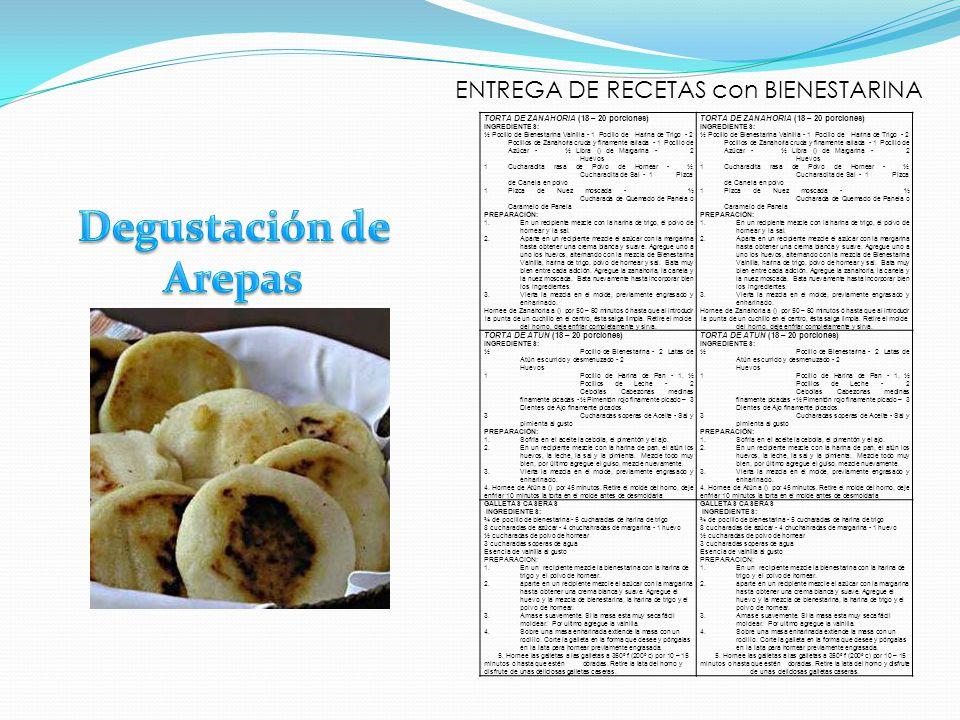 ENTREGA DE RECETAS con BIENESTARINA