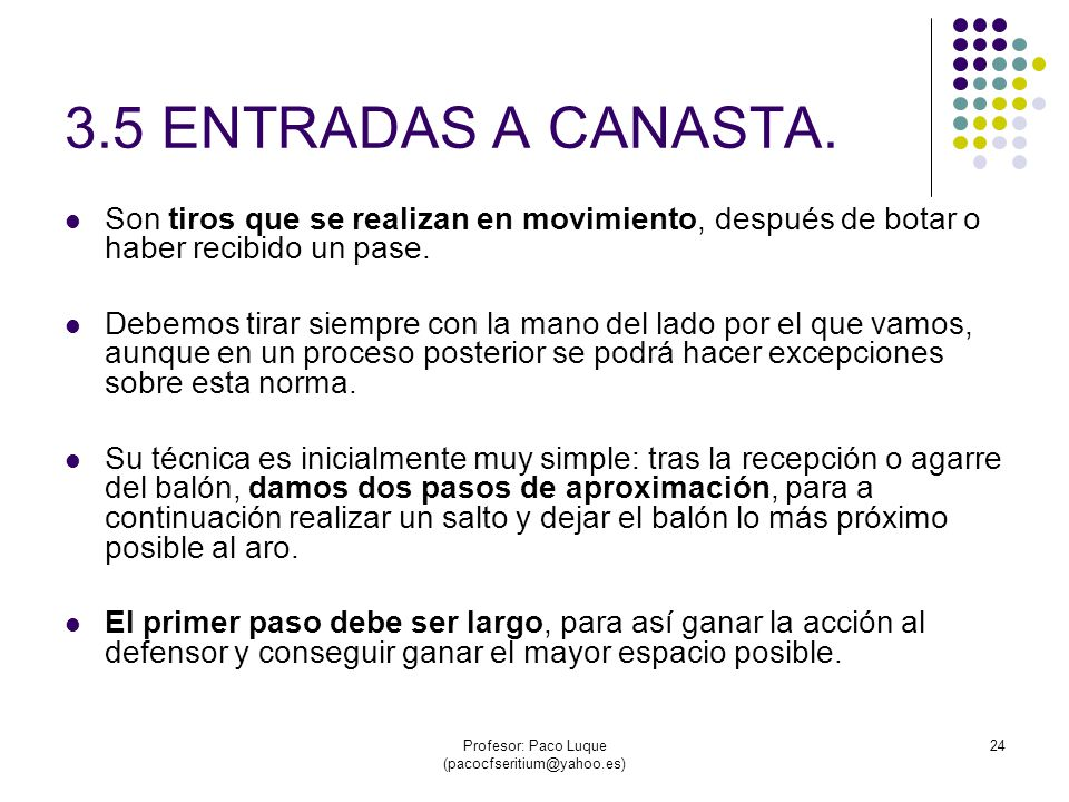 Profesor: Paco Luque (pacocfseritium@yahoo.es)