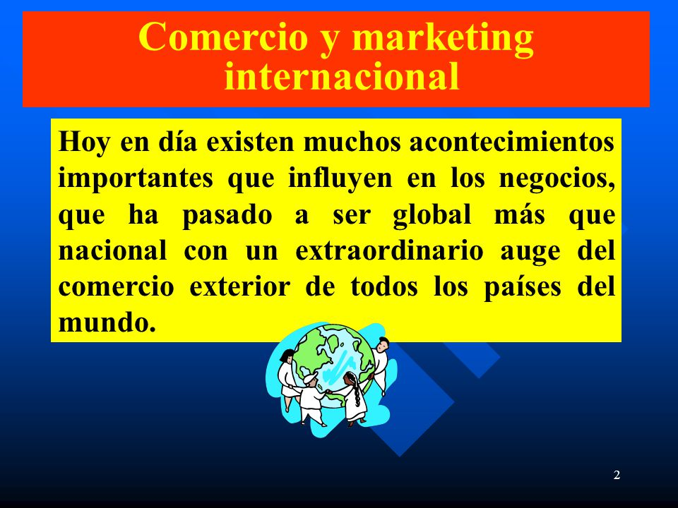 Marketing Internacional Ppt Descargar