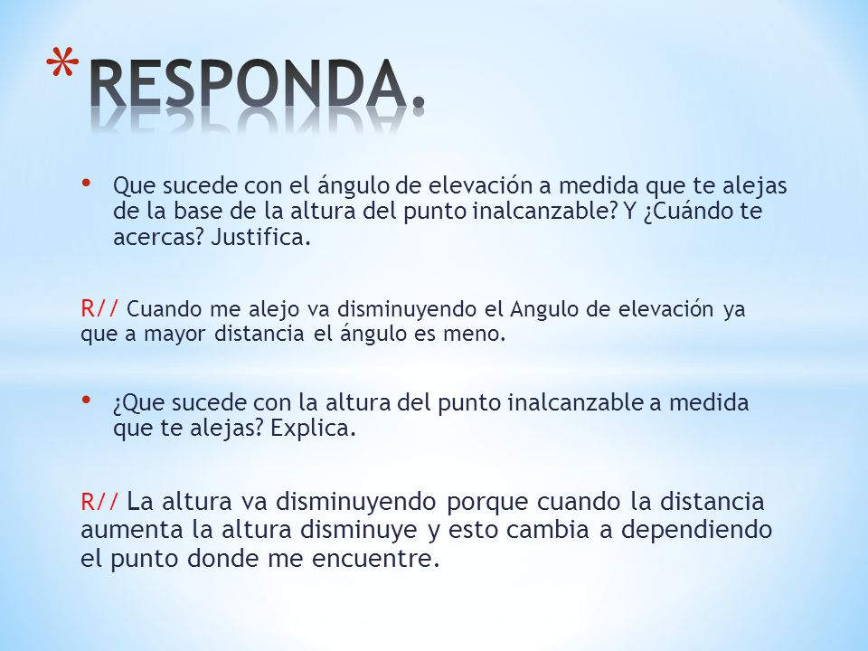 RESPONDA.