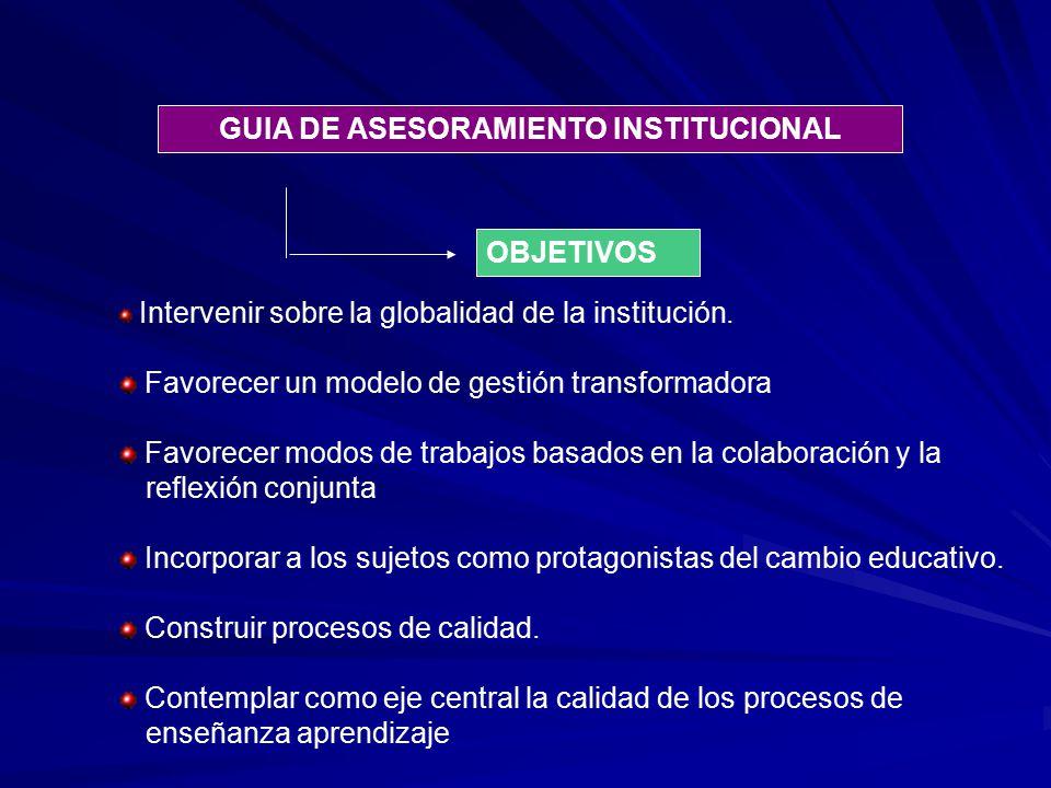 GUIA DE ASESORAMIENTO INSTITUCIONAL