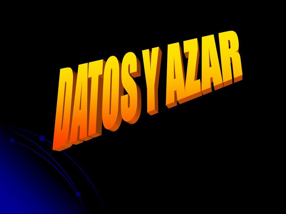 DATOS Y AZAR