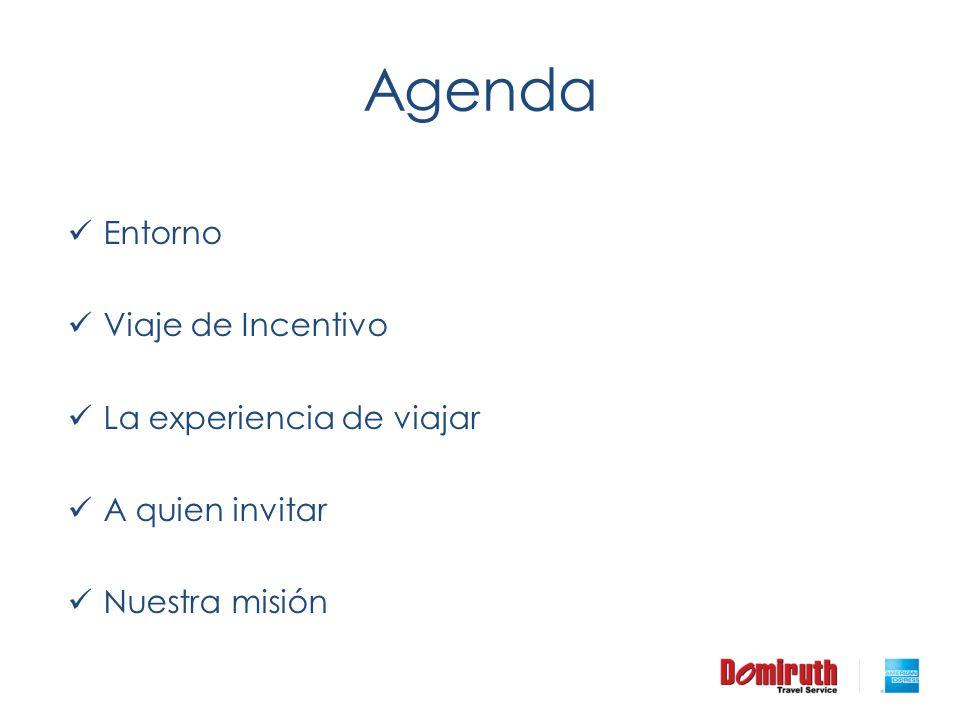 Agenda Entorno Viaje de Incentivo La experiencia de viajar