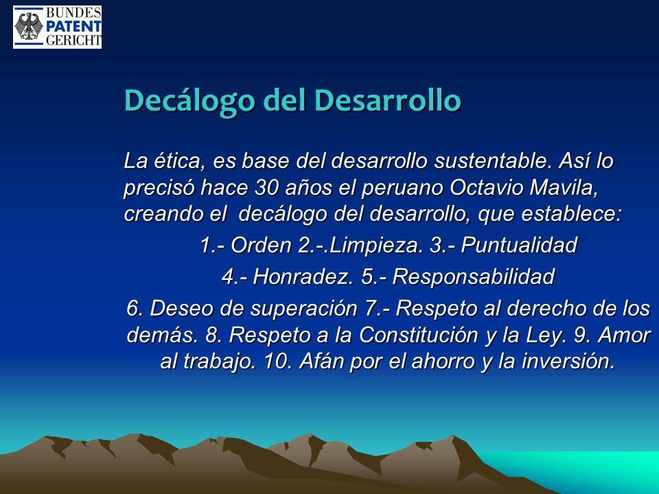 Decálogo del Desarrollo