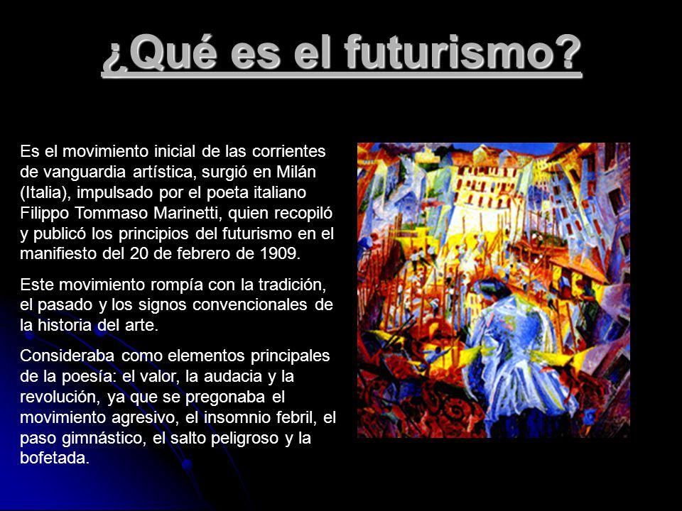 El futurismo integrantes camila gatica christian for Como surgio la vanguardia