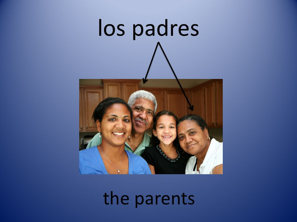 los padres the parents