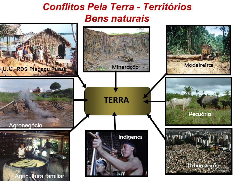 Conflitos Pela Terra - Territórios Bens naturais