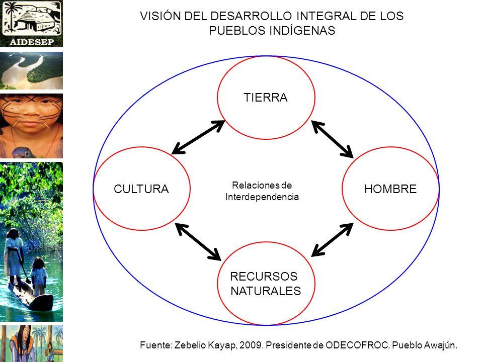 VISIÓN DEL DESARROLLO INTEGRAL DE LOS PUEBLOS INDÍGENAS