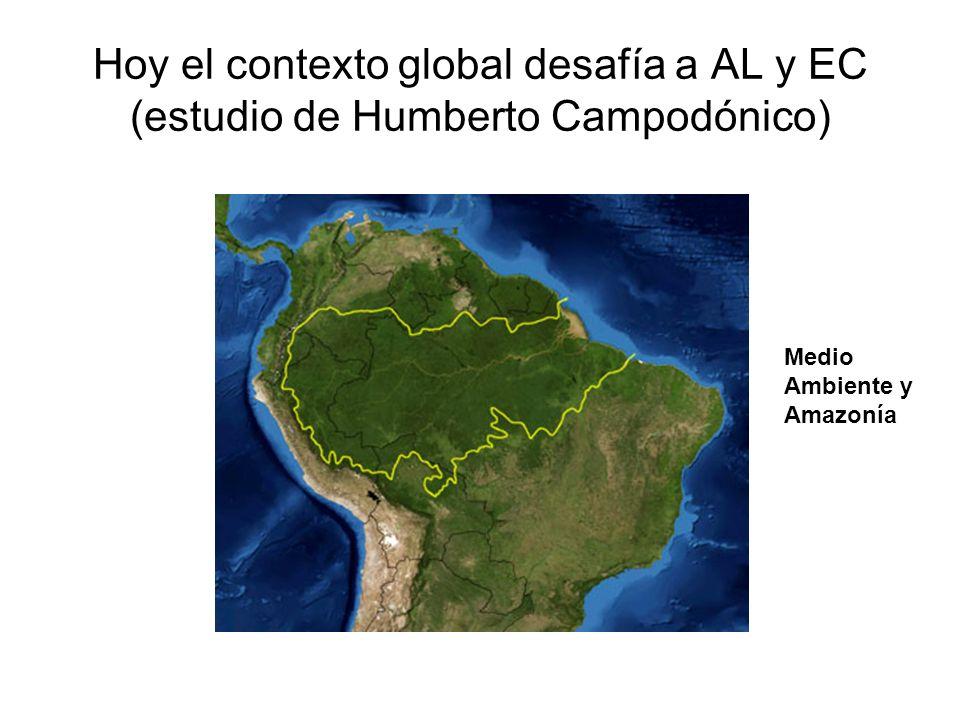 Hoy el contexto global desafía a AL y EC (estudio de Humberto Campodónico)