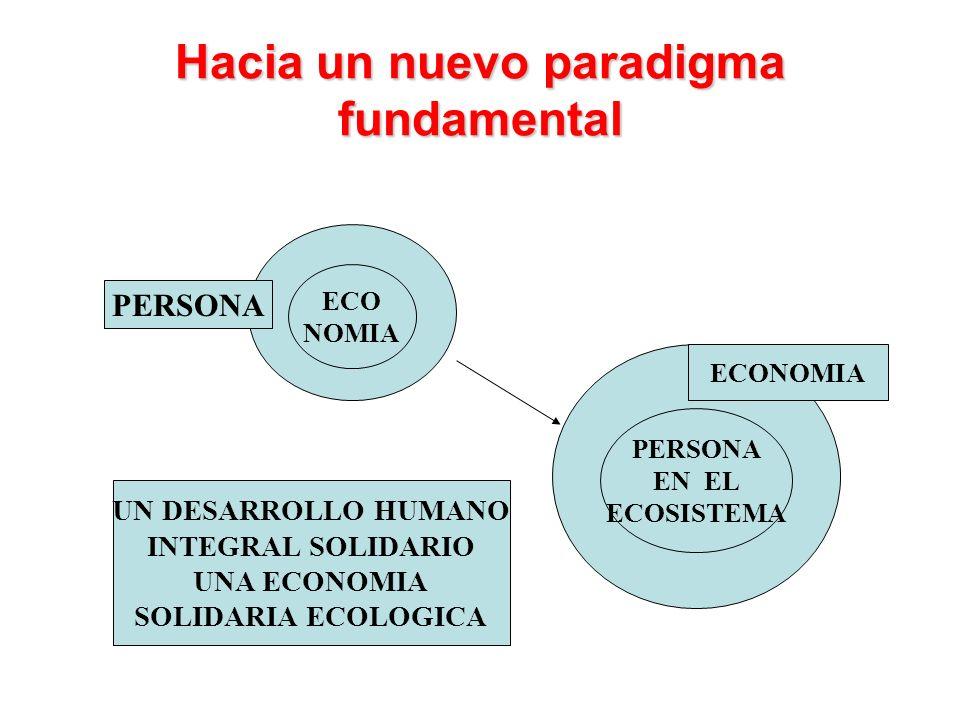 Hacia un nuevo paradigma fundamental