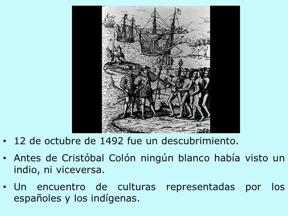 12 de octubre de 1492 fue un descubrimiento.