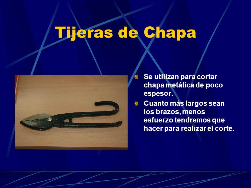 Las herramientas del taller de tecnologia para primer - Tijeras de chapa ...