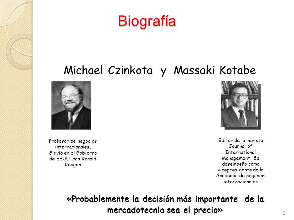 Michael Czinkota y Massaki Kotabe