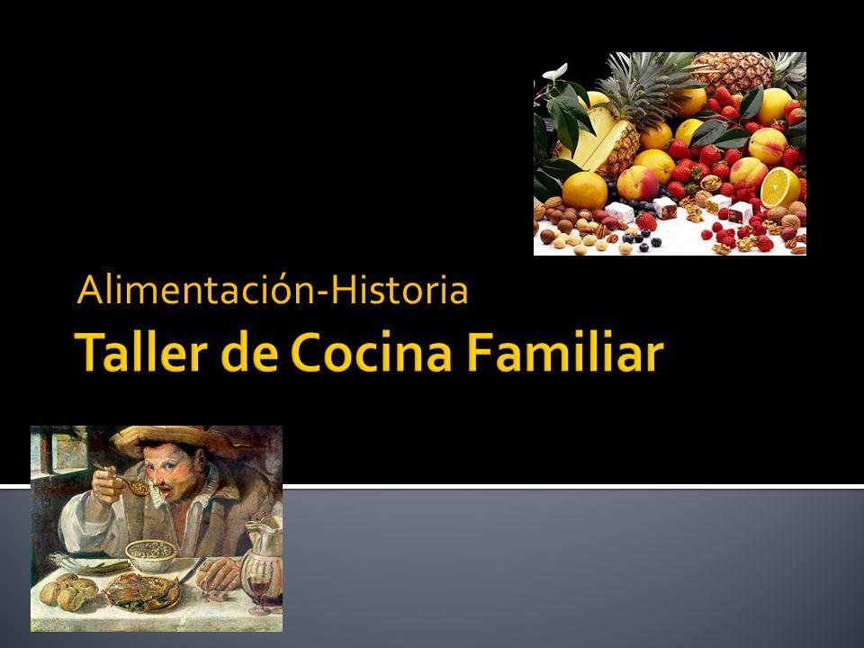 Taller de cocina familiar ppt descargar for Cocina familiar