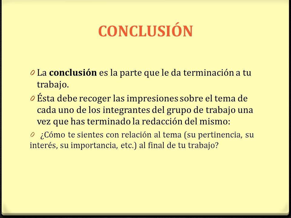Es la conclusi n de awesome porn for Conclusion de un vivero