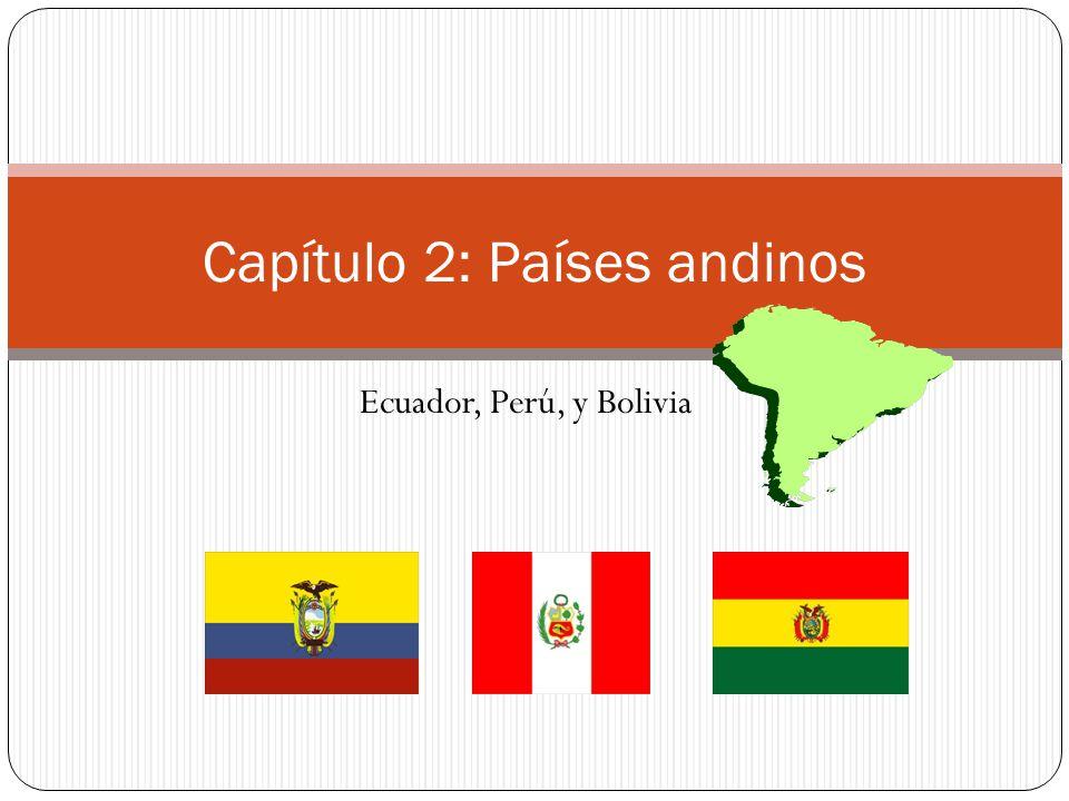 Capítulo 2: Países andinos