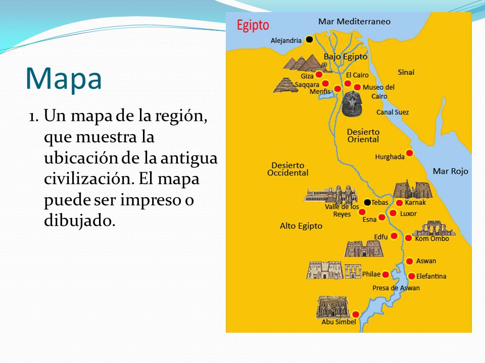 Proyecto de Egipto  ppt descargar