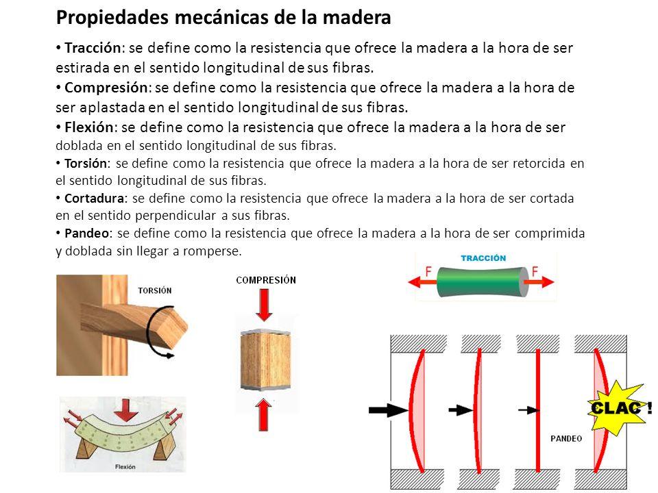 Propiedades f sicas de la madera dureza se define como la for Que es la veta de la madera