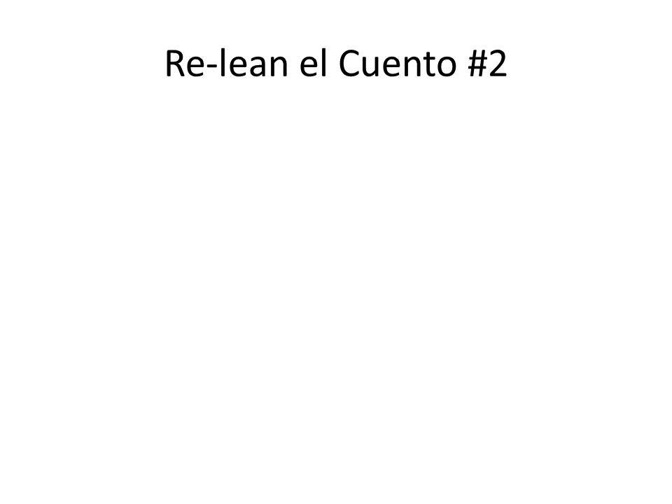 Re-lean el Cuento #2