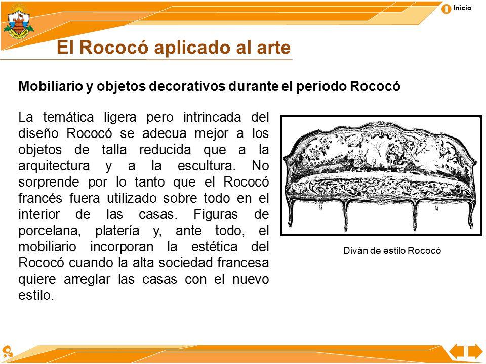Presentaci n arte rococ contenido tem tico ppt video for Caracteristicas del mobiliario