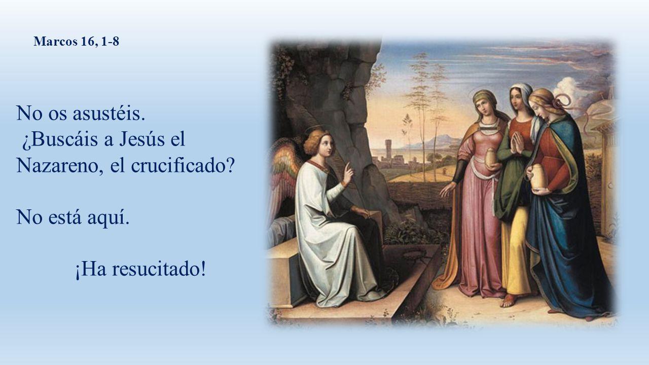 ¿Buscáis a Jesús el Nazareno, el crucificado