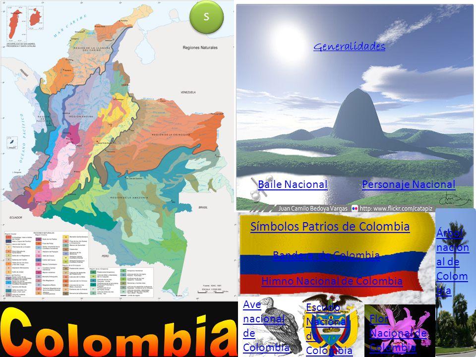 Colombia Símbolos Patrios de Colombia S Generalidades Baile Nacional