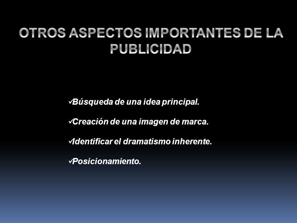 OTROS ASPECTOS IMPORTANTES DE LA PUBLICIDAD