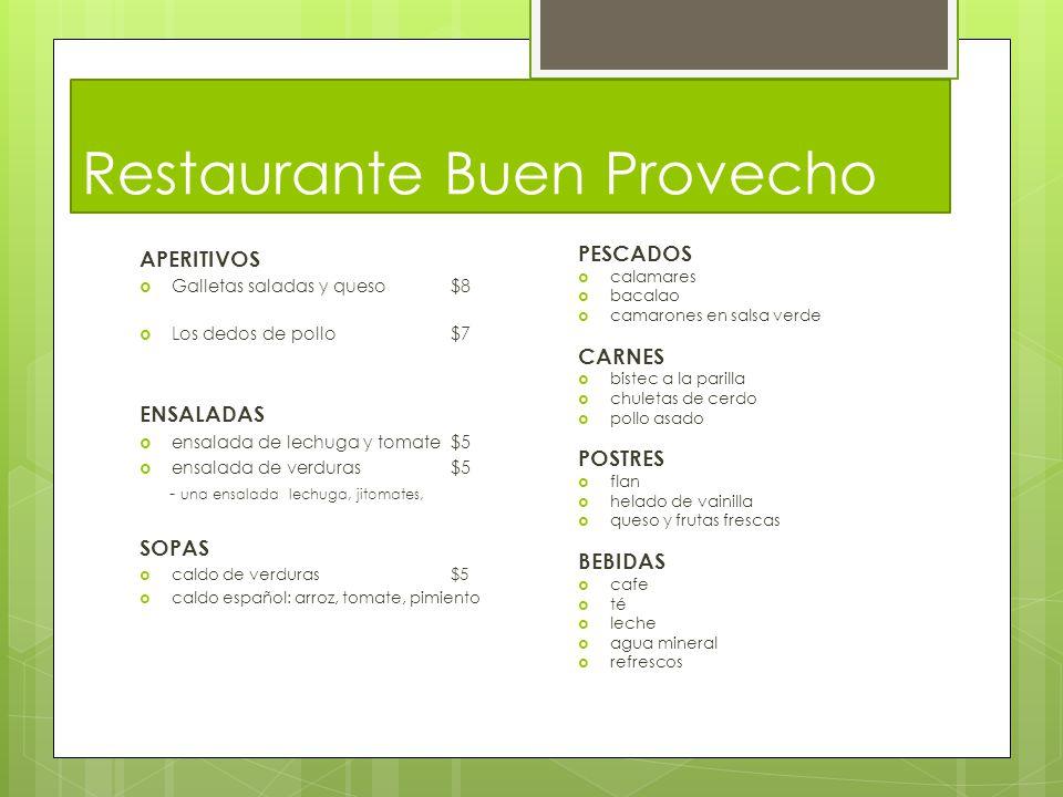 Restaurante Buen Provecho