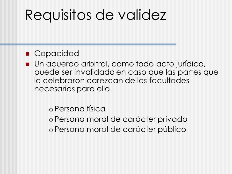 Acuerdo arbitral ppt descargar for Validez acuerdo privado clausula suelo