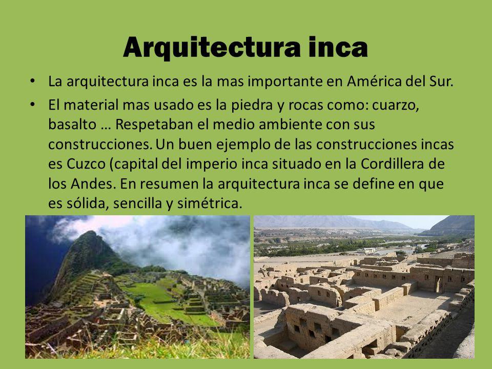 Anuar selmouni y andrei cilibiu ppt video online descargar for Arquitectura quechua