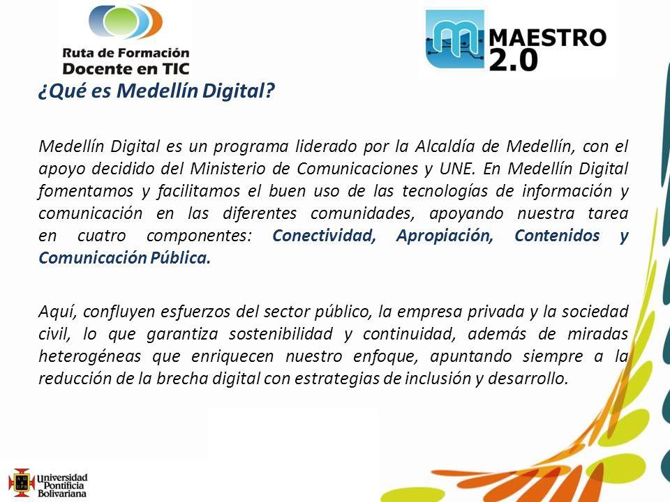 ¿Qué es Medellín Digital