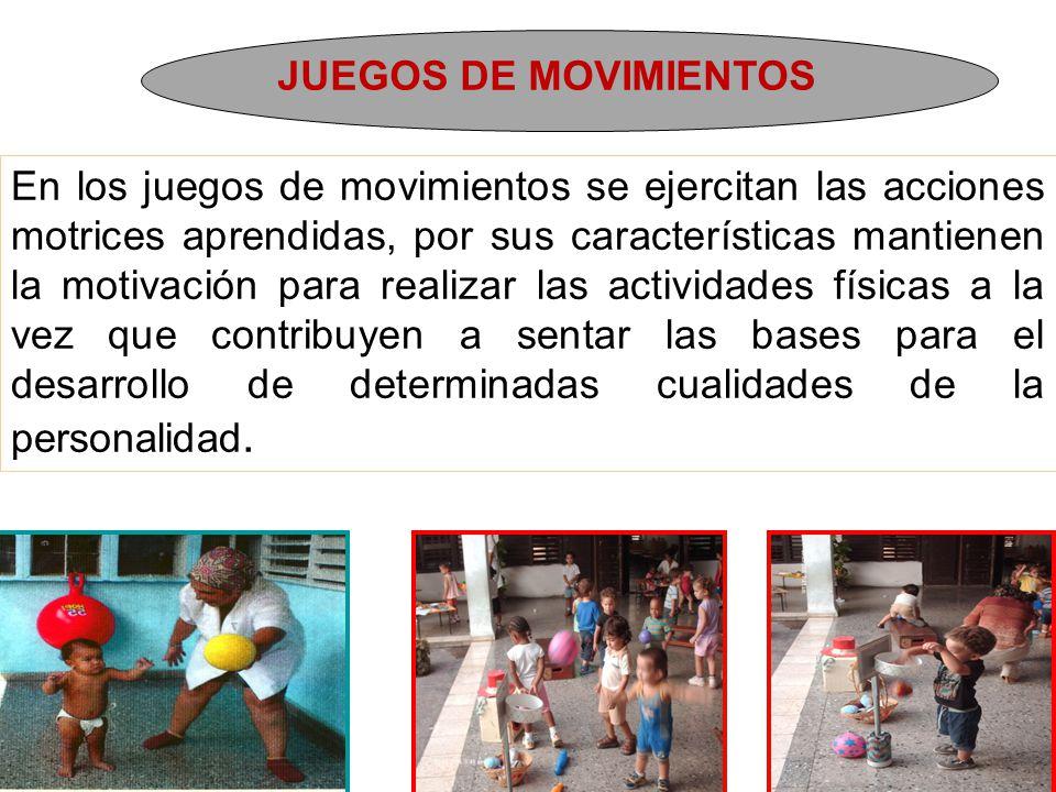 JUEGOS DE MOVIMIENTOS