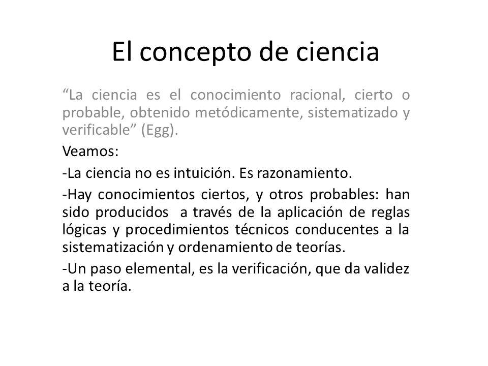 Ndice primera sesi n el concepto de ciencia el concepto for El concepto de arquitectura