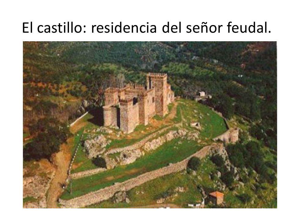 El castillo: residencia del señor feudal.