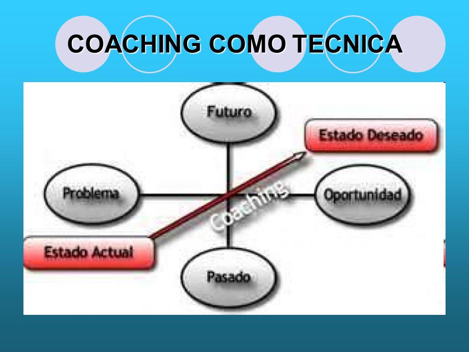 COACHING COMO TECNICA