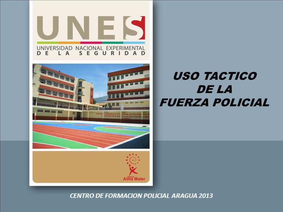 CENTRO DE FORMACION POLICIAL ARAGUA 2013
