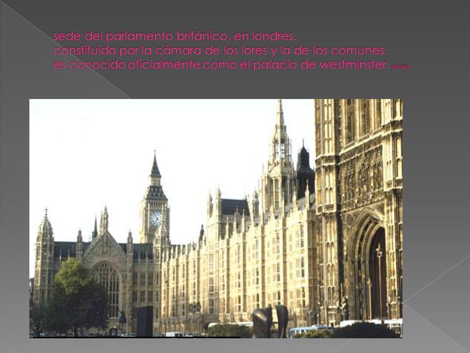 Tema 1 reg menes pol ticos en el mundo contempor neo for Sede del parlamento