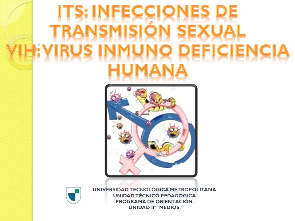 ITS: Infecciones de transmisión Sexual VIH: Virus Inmuno deficiencia Humana