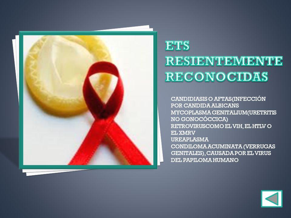 ETS RESIENTEMENTE RECONOCIDAS