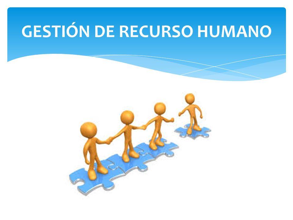 RESUMEN: -GESTIÓN DE RECURSOS HUMANOS -CALIDAD Y GESTIÓN EN SALUD ...