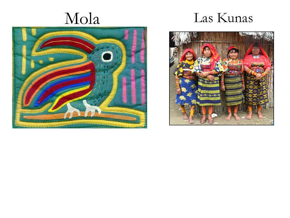 Mola Las Kunas