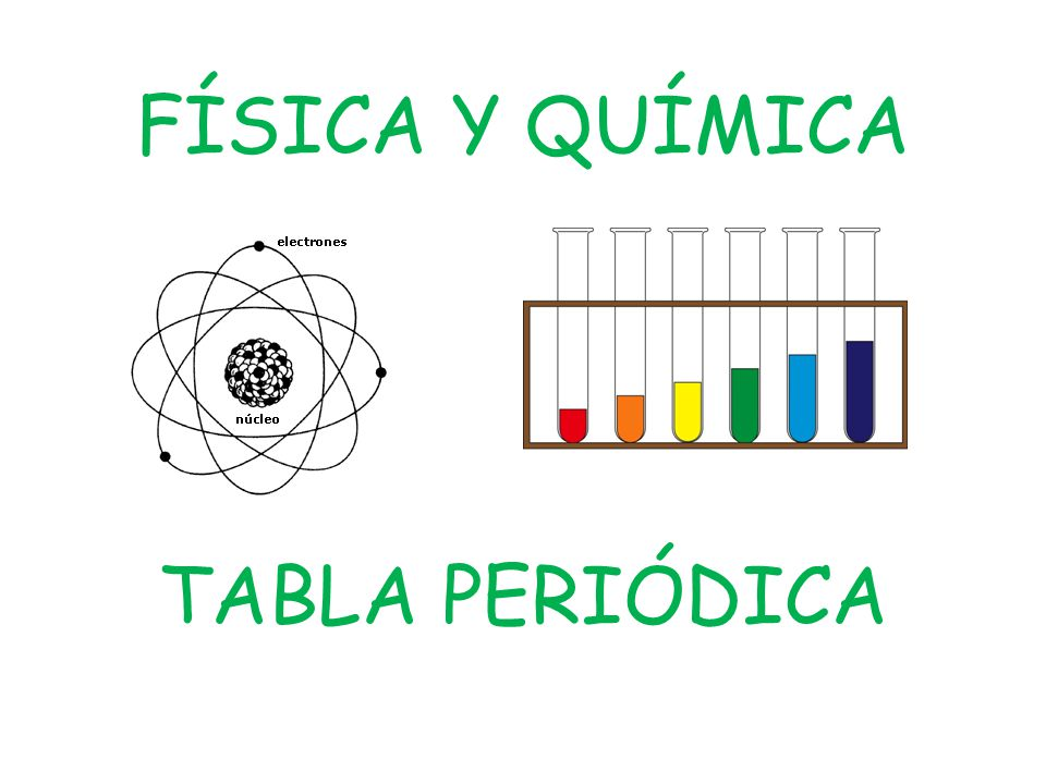 Fsica y qumica tabla peridica ppt descargar 1 fsica y qumica tabla peridica urtaz Image collections