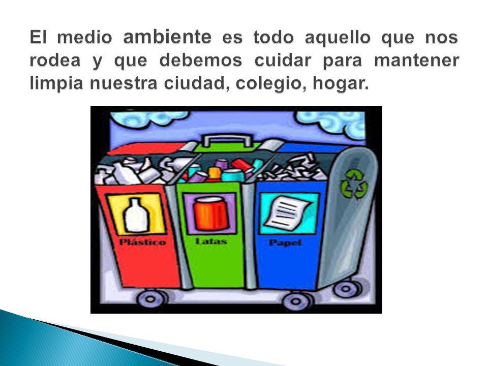 El medio ambiente el medio ambiente es el conjunto de - Todo para el hogar barato ...