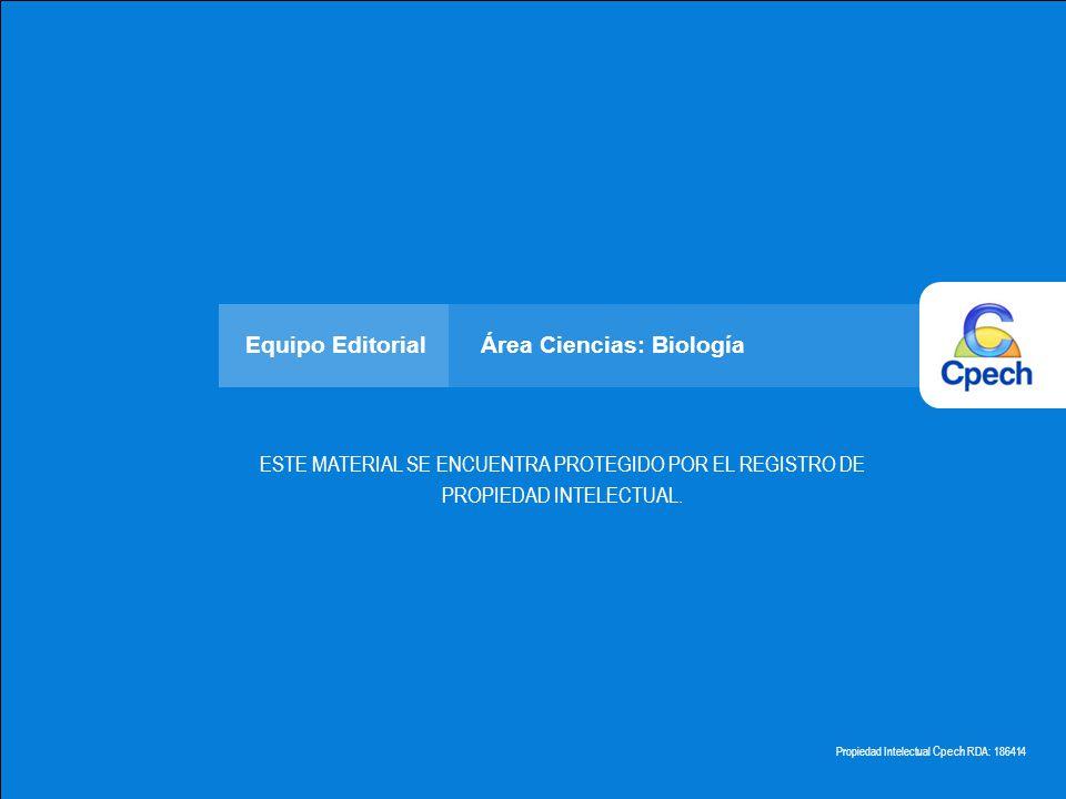 Equipo Editorial Área Ciencias: Biología